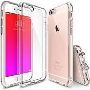Para iPhone X iPhone 8 iPhone 7 iPhone 7 Plus iPhone 6 iPhone 6 Plus Carcasa Funda Transparente Cubierta Trasera Funda Color sólido Suave