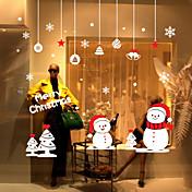 크리스마스 / 정물화 / 패션 / 히스토리 / 휴일 / 풍경 / 모양 벽 스티커 플레인 월스티커,VINYL 76*75CM