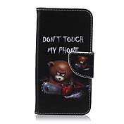 Etui Til Samsung Galaxy Samsung Galaxy Etui Kortholder Lommebok med stativ Flipp Heldekkende etui Tegneserie PU Leather til S6 edge plus