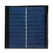 Panel solar de salida 5.5v 1w de silicio policristalino para bricolaje