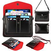 tarjetas multicapa paquete de cartera diagonal para iphone 6s más / 6 más