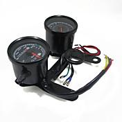 indicador de tacómetro motocicleta universales velocímetro cuentakilómetros conducido con el soporte