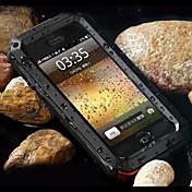Etui Til Apple iPhone 7 / iPhone 7 Plus / iPhone 6 Plus Støtsikker / Støvtett / Vannavvisende Bakdeksel Rustning Hard Metall til iPhone 7 Plus / iPhone 7 / iPhone 6s Plus