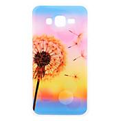 Etui Til Samsung Galaxy Samsung Galaxy Etui IMD Bakdeksel løvetann TPU til J7 J3 J1 E7