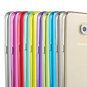 Funda Para Samsung Galaxy Samsung Galaxy S7 Edge Transparente Funda Trasera Color sólido TPU para S7 edge S7