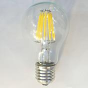 E26/E27 LED필라멘트 전구 A60(A19) 12 LED가 COB 방수 장식 따뜻한 화이트 내추럴 화이트 1050lm 2700K AC 220-240V
