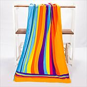 Frisk stil Strandhåndkle, Reaktivt Trykk Overlegen kvalitet 100% Polyester Strik Håndkle