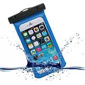 케이스 제품 iPhone 6s Plus iPhone 6 Plus iPhone 6s 아이폰 6 iPhone 5 아이폰 5C 유니버셜 iPhone 4/4S 방수 윈도우 파우치 백 한 색상 소프트 PC 용 iPhone SE/5s