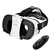 프리 쯔 VR 2 초 가상 현실 안경 + 블루투스 컨트롤러 - 화이트