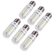 4W E14 E26/E27 LED-kornpærer T 69 leds SMD 5730 Dekorativ Varm hvit Kjølig hvit 280lm 3000/6000K AC 220-240 AC 110-130V