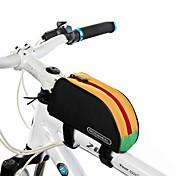 ROSWHEEL 1 L Bolsa para Cuadro de Bici / Bolsa de tubo superior A Prueba de Humedad, Listo para vestir, A Prueba de Golpes Bolsa para Bicicleta CLORURO DE POLIVINILO / Poliéster 600D Bolsa para