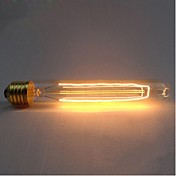 1pc 40W E26/E27 T30 K Glødende Vintage Edison lyspære AC 220-240V V