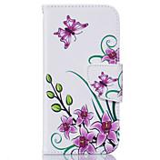 Funda Para Apple iPhone 6 iPhone 6 Plus Soporte de Coche Flip Funda de Cuerpo Entero Flor Suave Cuero de PU para iPhone 6s Plus iPhone 6s