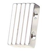 5 pcs 40*12*5mm Magnetiske leker Byggeklosser / Puzzle Cube / Neodym-magnet Magnet Voksne Gave