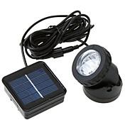 3W Luces LED Solares 300 lm Blanco Fresco LED Dip Recargable / Decorativa / Impermeable <5V V 1 piezas