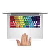 1개 스킨 스티커 용 스크래치 방지 단색 무광 울트라 씬 PVC MacBook Pro 15'' with Retina MacBook Pro 15'' MacBook Pro 13'' with Retina MacBook Pro 13'' MacBook