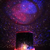 Que cambia de color estrella de la belleza cielo estrellado luz del proyector de la noche