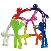 Magnetiske leker Q-mannmagnet / Magnetmenn i gummi 10pcs Silikon Magnetisk Barne Gave