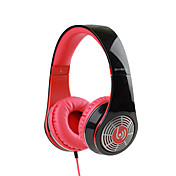 Beevo BV-HM730 Sobre el oído Cinta Con Cable Auriculares Dinámica El plastico Teléfono Móvil Auricular DE ALTA FIDELIDAD Con control de