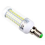 ZIQIAO 960 lm E14 E26/E27 LED-kornpærer T 72 leds SMD 5730 Dekorativ Varm hvit Naturlig hvit AC 220-240V