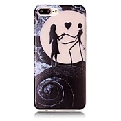 Funda Para Apple iPhone 6 iPhone 7 Plus iPhone 7 Fosforescente Diseños Funda Trasera Paisaje Suave TPU para iPhone 7 Plus iPhone 7 iPhone