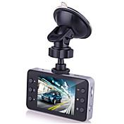 1080p hd 2.7 pulgadas 140 grados de gran angular 12.0mp cámara del coche dvr