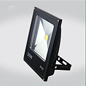 50W calienta el color blanco fresco ultra negro al aire libre IP65 / delgada llevada llevó el reflector bombilla (ac85-265v)