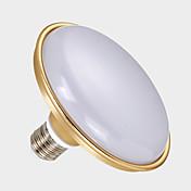 24w e27 smd5730 llevó la lámpara de luz del globo del platillo de la bombilla (ac220-240v)