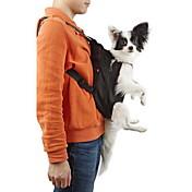 Kat Hund Kofferter & Reise Ryggsekker Front Ryggsekk Kæledyr Kurver Ensfarget Bærbar Pustende Svart Oransje Rød Blå Rosa For kjæledyr