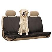 Perro Cobertor de Asiento Para Coche Mascotas Colchonetas y Cojines Sólido Impermeable Plegable Negro