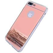 Etui Til Apple iPhone 6 iPhone 7 Plus iPhone 7 Speil Bakdeksel Annen Hard PC til iPhone 7 Plus iPhone 7 iPhone 6s Plus iPhone 6s iPhone 6