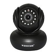 WANSCAM 1.0 MP Interior with Día de Noche Premium Día de Noche Detector de movimiento Acceso Remoto Conecte y Utilice) IP Camera