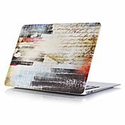 "MacBook Etui til Fullbody Etuier Oljemaleri Plast Macbook Pro 15 "" MacBook Air 13 "" MacBook Pro 13 "" MacBook Air 11 "" MacBook MacBook Pro"