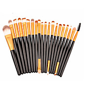 20pcs Profesional Pinceles de maquillaje Sistemas de cepillo / Contour Brush / Otros Pinceles Pincel de Fibra Artificial / Pelo Sintético