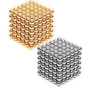 Juguetes Magnéticos 432 Piezas 3MM MM Kit de Bricolaje Juguetes Magnéticos Bloques de Construcción Bolas magnéticas Metal Magnético