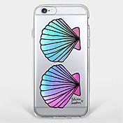 Etui Til Apple iPhone 7 / iPhone 6 / Etui iPhone 5 Mønster Bakdeksel Flise Myk TPU til iPhone 7 Plus / iPhone 7 / iPhone 6s Plus