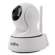Cámara IP de seguridad veskys® t2 720p 1.0mp wi-fi (día de noche / detección de movimiento / acceso remoto / ir-cut / plug and play)