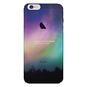 Funda Para Apple iPhone 8 iPhone 8 Plus Funda iPhone 5 iPhone 6 iPhone 7 Traslúcido Funda Trasera Cielo Paisaje Suave TPU para iPhone 8