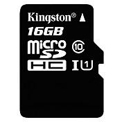 Kingston 16GB Tarjeta TF tarjeta Micro SD tarjeta de memoria UHS-I U1 Clase 10