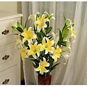 1 1 Rama Plástico / Otros Lilas / Otros Flor de Suelo Flores Artificiales