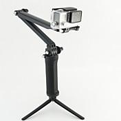 Telescopic Pole 모노 폽 트리폽 마운트 멀티기능 에 대한 액션 카메라 롤라이 액션 캠 (420) 롤라이 액션 캠 (410) Gopro 5/4/3/3+/2/1 다이빙 밀리터리 플라스틱