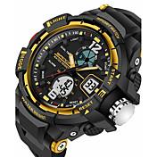SANDA Herre Armbåndsur Smartklokke Militærklokke Moteklokke Sportsklokke Digital Japansk Quartz Alarm Kronograf Vannavvisende LED