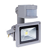 LED-lyskastere Sensor Bærbar Justerbar Lett installasjon Vanntett Utendørsbelysning Garasje Entré/trapper Varm hvit AC 85-265V