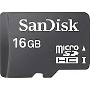SanDisk 16GB SD Kort minnekort Class4