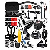 Tilbehør Kit 30 in 1 / Praktiskt Til Action-kamera Gopro 6 / Gopro 5 / Gopro 4 Dykking / Universell / Militær Plast / Nylon / Gummi