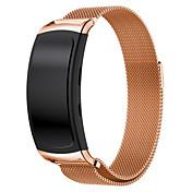 brida de sustitución de bucle Milanese malla de acero inoxidable cierre magnético para la galaxia de Samsung FIT2 engranaje sm-R360