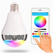 E26/E27 Bombillas LED Inteligentes G80 20 SMD 5050 400 lm RGB K Bluetooth Decorativa AC 85-265 V