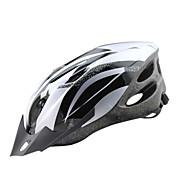 Adultos Casco de bicicleta 18 Ventoleras CE Resistente a Golpes, Peso ligero, Ajustable EPS, ordenador personal Deportes Ciclismo de Pista / Ciclismo Recreacional / Ciclismo / Bicicleta - Plata