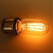 1pc 25W E27 E26/E27 E26 T45 K Bombilla incandescente Vintage Edison AC 110-130V AC 220-240V V