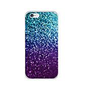 Etui Til Apple iPhone 6 iPhone 6 Plus Ultratynn Mønster Bakdeksel Glimtende Glitter Myk TPU til iPhone 6s Plus iPhone 6s iPhone 6 Plus